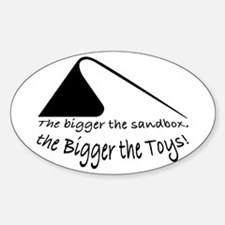 Bigger the Sandbox Bumper Stickers