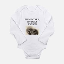 sherlok holmes gifts t-shirts Long Sleeve Infant B