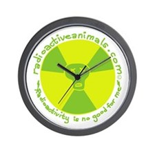 Radioactive! Wall Clock