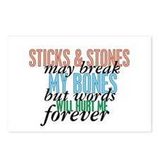 Sticks and Stones Postcards (Package of 8)