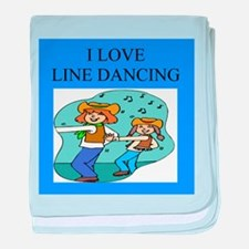 line dancing gifts and t-shir Infant Blanket