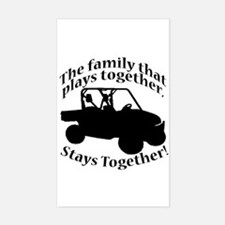 Family Plays Decal