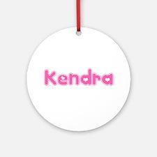 """Kendra"" Ornament (Round)"