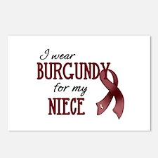 Wear Burgundy - Niece Postcards (Package of 8)