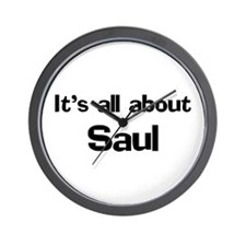 It's all about Saul Wall Clock