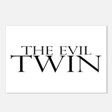 The Evil Twin Postcards (Package of 8)