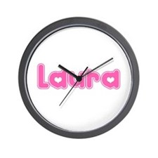 """Laura"" Wall Clock"