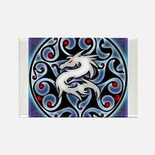 Fierce Dragon Rectangle Magnet
