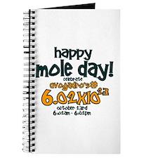 Happy Mole Day ! Journal