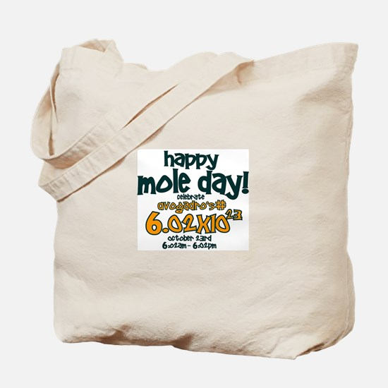Happy Mole Day ! Tote Bag