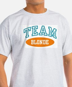 TEAM BLONDE Ash Grey T-Shirt