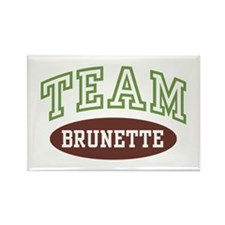 TEAM BRUNETTE Rectangle Magnet