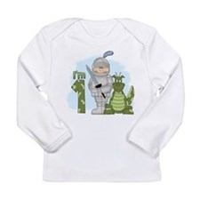 Dragon Knight First Birthday Long Sleeve Infant T-