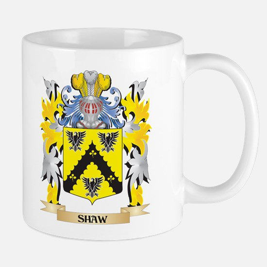 Shaw- Family Crest - Coat of Arms Mugs