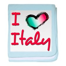 I love italy Infant Blanket