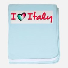I love Italy Infant Blanket