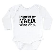 Insured by Mafia Long Sleeve Infant Bodysuit