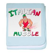 Italian Bad Boy Infant Blanket