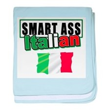Smart ass Italian Infant Blanket