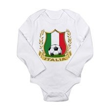2010 World Cup Italia Long Sleeve Infant Bodysuit