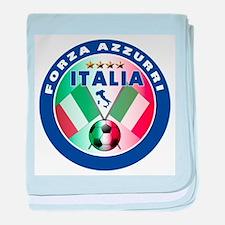 Italian Forza Azzurri Infant Blanket