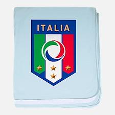 Italian Soccer emblem Infant Blanket