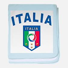 Forza Italia baby blanket