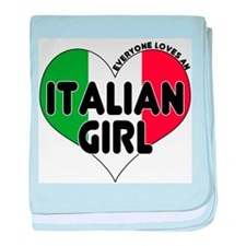 Everyone Loves an Italian Gir Infant Blanket