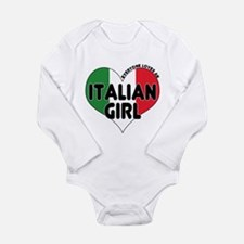 Everyone Loves an Italian Gir Long Sleeve Infant B
