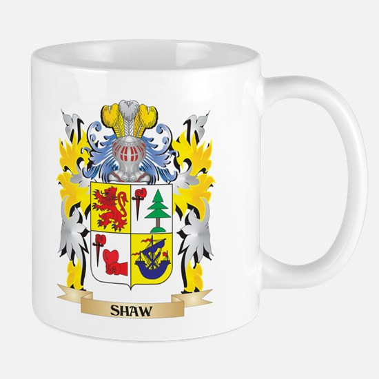 Shaw Family Crest - Coat of Arms Mugs