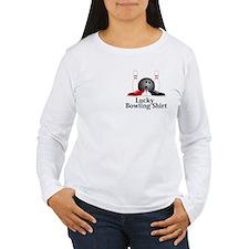 Lucky Bowling Shirt Logo 15 T-Shirt