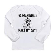 Gun control Long Sleeve Infant T-Shirt
