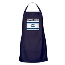 Peace for Isreal Apron (dark)
