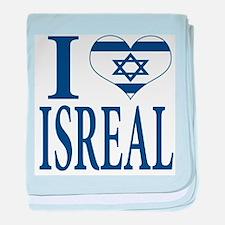 I love Isreal Infant Blanket