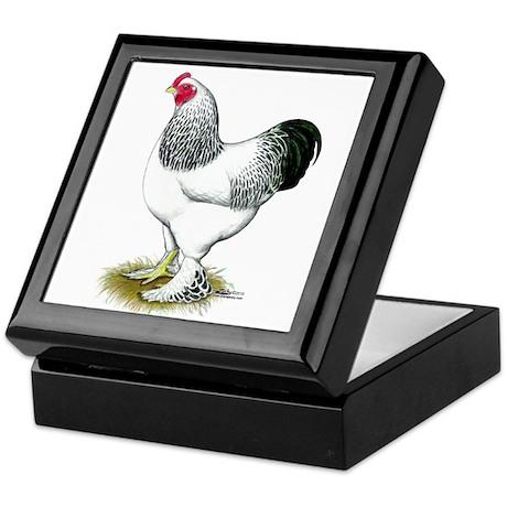Brahma Light Rooster Keepsake Box