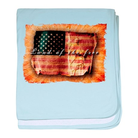 Land of the free Infant Blanket