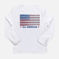 Land of the free Long Sleeve Infant T-Shirt