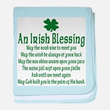 Irish Blessing Infant Blanket