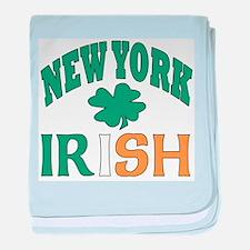 New York irish Infant Blanket