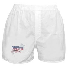 "Maddog Racing ""Bad to the Boner"" Boxer Shorts"