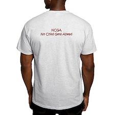 No Child Gets Ahead T-Shirt