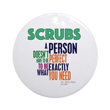 Scrubs Elliot Quote Ornament (Round)