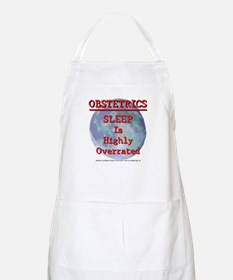 Sleep is highly overrated Apron
