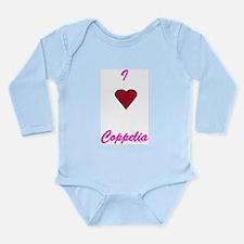 Heart Coppelia Long Sleeve Infant Bodysuit