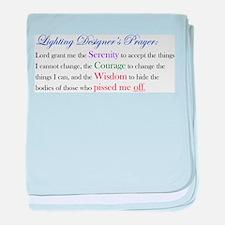 Light Designer Prayer Infant Blanket