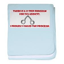 12 Step SVU Program Infant Blanket