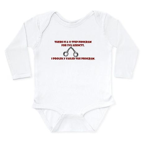 12 Step SVU Program Long Sleeve Infant Bodysuit