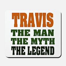 TRAVIS - The Legend Mousepad