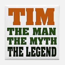 TIM- The Legend Tile Coaster