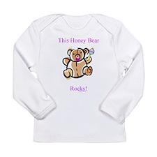 This Honey Bear Rocks! Long Sleeve Infant T-Shirt